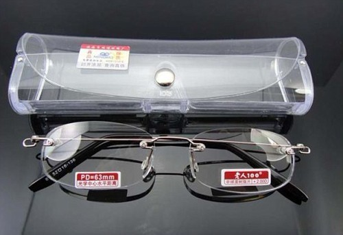 TWO PAIRS! RIMLESS LIGHT ANTI-SLIP unisex reading glasses+1+1.5+2+2.5+3+3.5+4 928