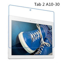 Buy 9H Tempered Glass Screen Protector Film Lenovo Tab 2 A10 30 A10-30 X30F X30L + Alcohol Cloth + Dust Absorber for $4.99 in AliExpress store