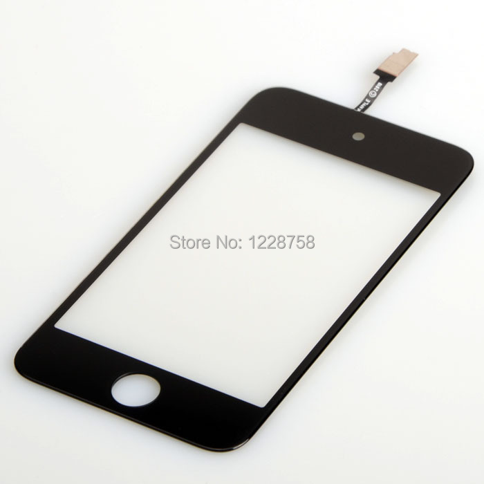 Free shipping Black Touch Screen Digitizer Fit For iPod Touch 4 4G B0028