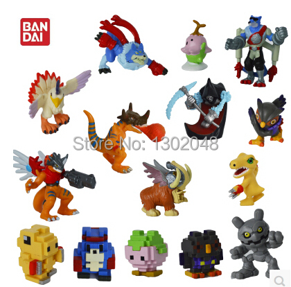Fashion!5pcs/lot Digimon Adventure anime action figure The Digimon anime toy for children free shipping(China (Mainland))