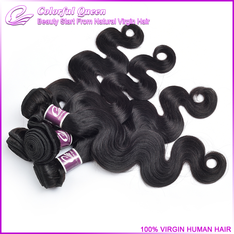 Crochet Hair Body Wave : Crochet Hair 5A Malaysian Virgin Hair Body Wave 2 Bundle ofertas 100% ...