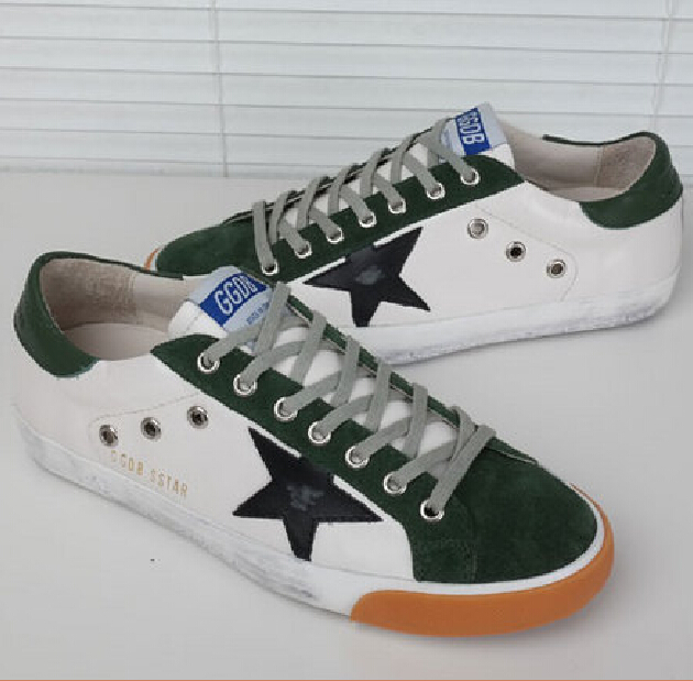 New arrival Brand Golden Goose ggdb men Sneakers Superstar women running shoes casual white Sneakers Genuine Leather EU 35-46
