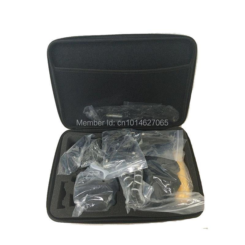 Gopro Accessories Set for Gopro hero5 black hero5 session hero4/3/2 Xiaomi yi 4K sjcam sj4000 sj5000 M10 M20 Eken h9/h9r