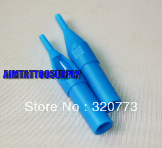 Tattoo Tips Plastic Needle Tip Blue 7R  -  SUE WANG supplies store