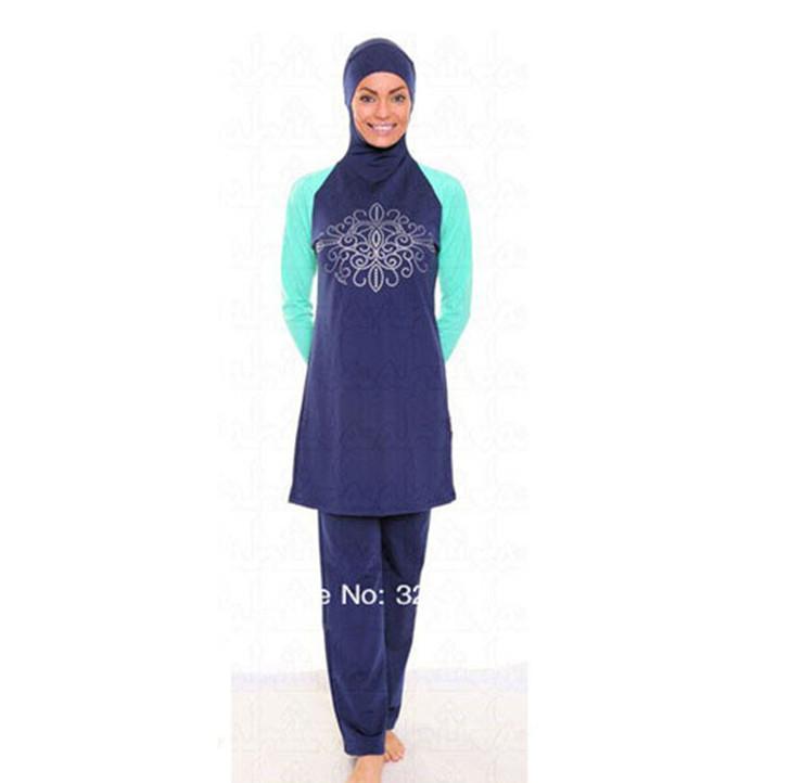 Traje De Baño Mujer Nuevo:Traje de baño musulmán 2015 nuevo patrón versión para mujer traje