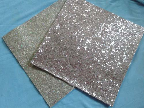 SANRO New Design 9x9cm Glitter Felt Needle-Punched Nonwoven Polyester Felt, Fieltro feltro(China (Mainland))