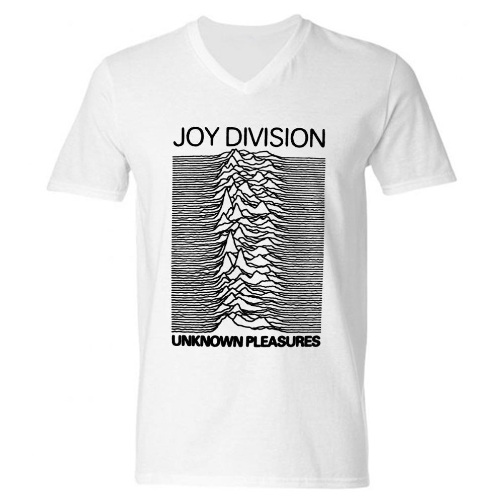 Fashion new joy division men t shirts cotton v neck short for 100 cotton v neck t shirts wholesale