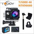 Topjoy TJ5000 NTK96660 4K Action Camera 2 170D 16M 1080P Mini Cam Nightshot Voice Prompt 30m