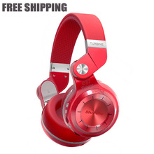 Bluedioe T2+ Fashionable Foldable Over The Ear Bluetooth Headphones BT 4.1 Support FM Radio SD Card Functions Music Mobile Phone(China (Mainland))