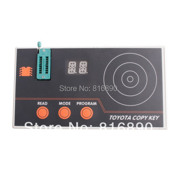 2014 best quality Toyota Key Copier Programmer toyota key programmer Read the pin code free dhl(China (Mainland))