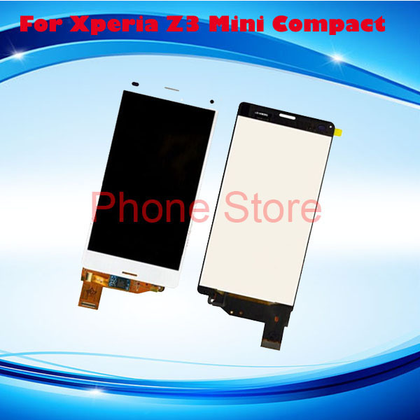 100% Original lcd Sony Xperia Z3 compact LCD,Z3 mini LCD ,D5803 D5833 display screen - phone parts store one