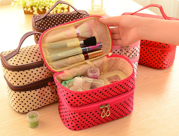 Cosmetic Case bag Women Makeup bags large capacity portable storage travel - Lehu Store store