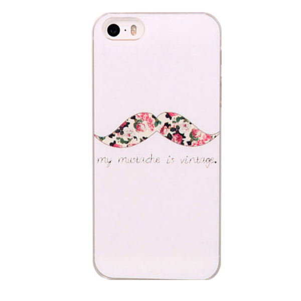 1 New Brand Flower Paint Transparent Side Style Hard Plastic Mobile Phone Case Cover Iphone 4 4S 5 5S 5C - FashionPhoneCase store