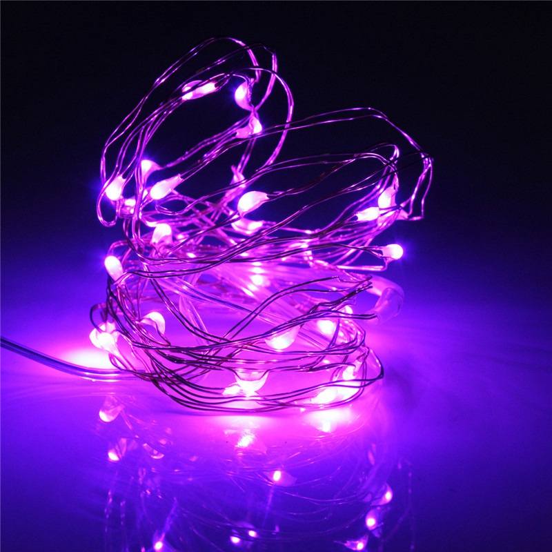 Hot Sale 30 LED String Fairy Copper Wire Light for 3M Battery Operated Wedding Christmas Xmas Party Decoration Lighting Lamp(China (Mainland))