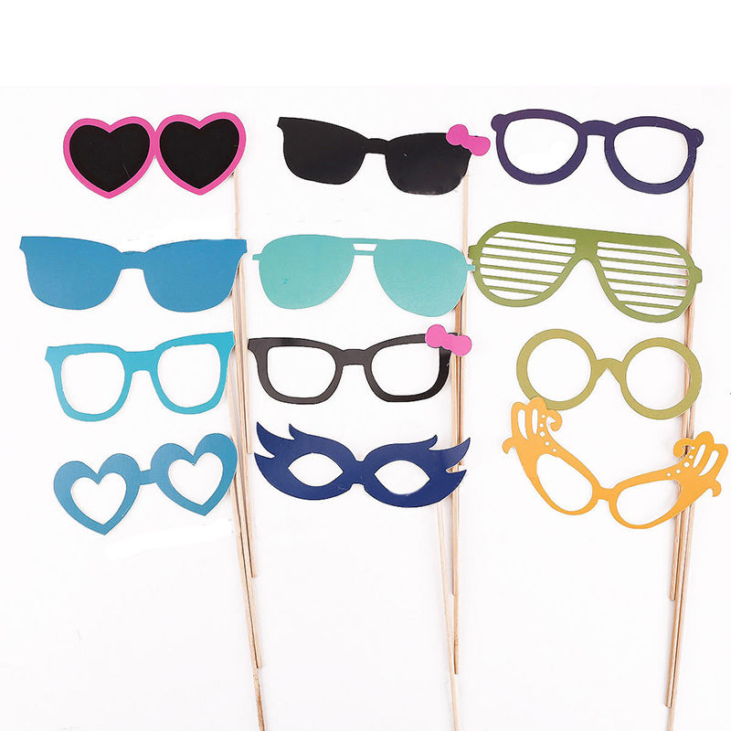 Details about Enduring Best 44 Photo Booth Props Moustache Lips on Stick Christmas Party Top(China (Mainland))