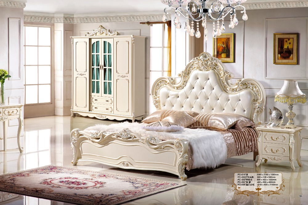 Hot Sale Bedroom Furniture Modern Wood Beds Bedroom Furniture Leather