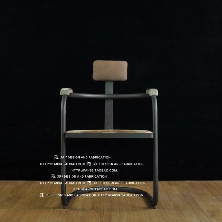 LOFT American country to do the old antique wrought iron bar chairs minimalist dinette tall stool bar stool red crown Deals(China (Mainland))