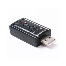2015 Hot 7.1 Channel USB External Sound Card Audio Adapter(China (Mainland))