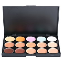 1 PCS Natural Full Cover Long Lasting Smooth Concealer Women Face Eye Makeup Concealer Palette Face Primer contouring makeup