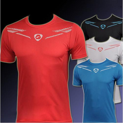 Hot sale New Mens Designer Quick Drying Casual T-Shirts Tee Shirt Fit Tops New Fashion Sport Shirt Sportswear M L XL XXL(China (Mainland))