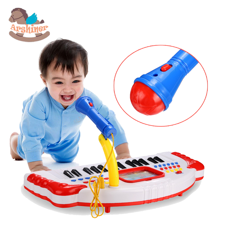 Arshiner Baby education toy Kids Record and Learn Play Piano Keyboard learning Toys(China (Mainland))