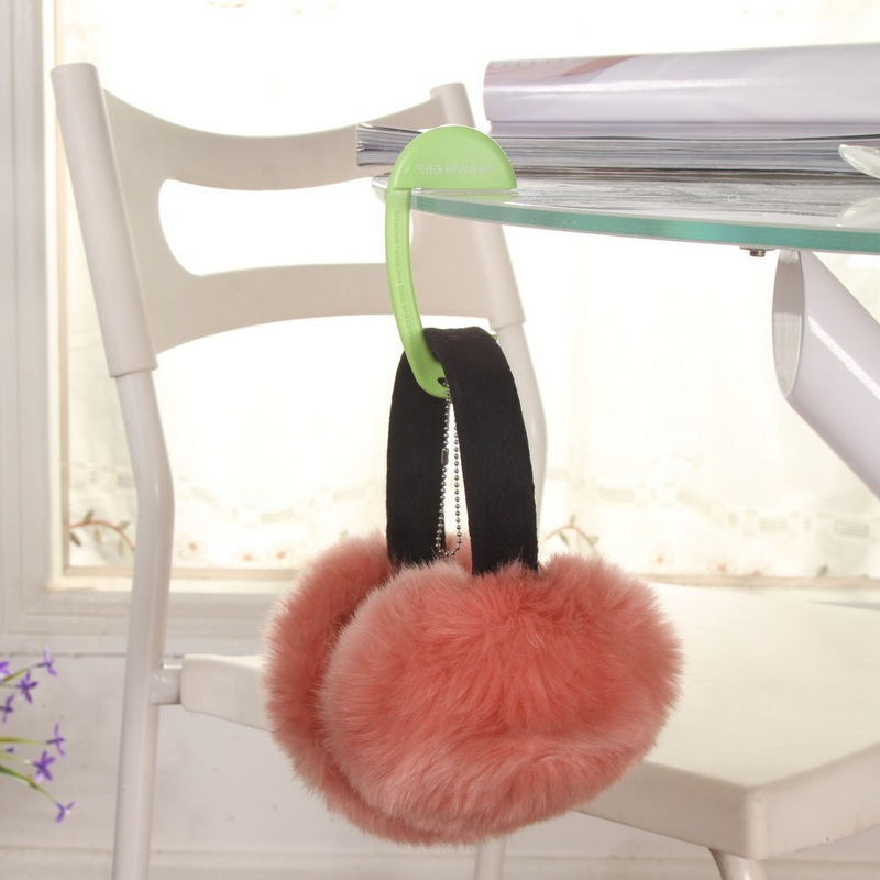 Hot Selling bag accessories Parts Exquisite Plastic Desk Chair Purse Tote Handbag Bag Hanger Hook Holder 10.5*5.5cm(China (Mainland))