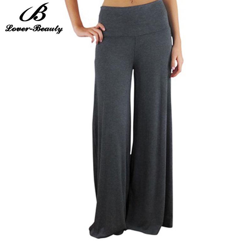 Elegant 2017 2015 Women39S One Piece Dress Pants Loose Chiffon Casual  465x473
