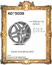 "SET OF 4 22"" MERCEDES ML STYLE ALUMINUM  ALLOY WHEELS RIMS FIT ML GL SERIES AND MANY MORE(China (Mainland))"