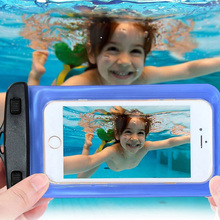 i5 i6 i7 waterproof diving phone bag case for apple iphone 7 7 plus 6s 5s se 5c 6s plus soft clear PVC underwater pouch pocket(China (Mainland))