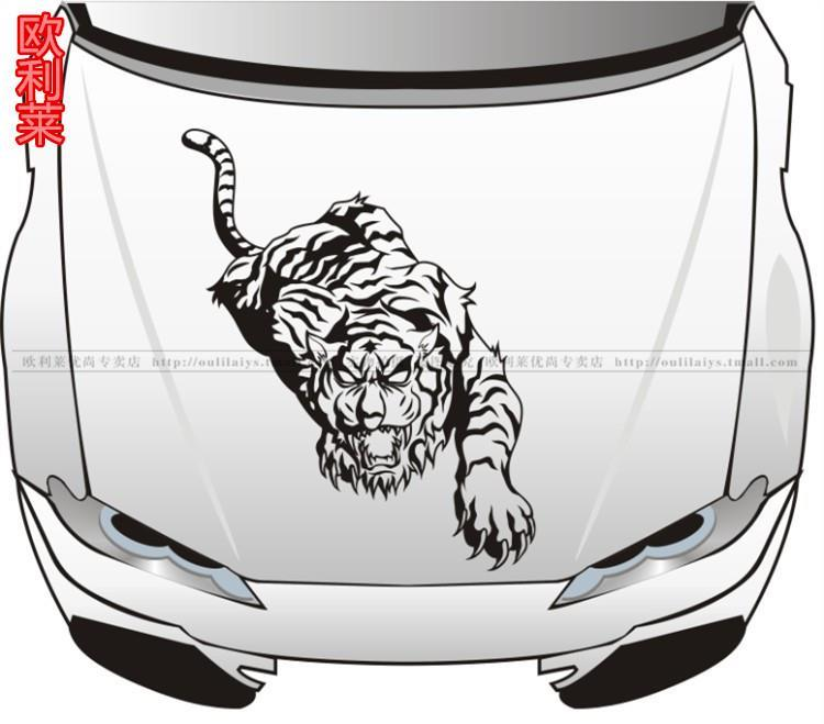 Car stickers tiger car stickers cover car stickers spare tire stickers car cover sticker Large<br><br>Aliexpress