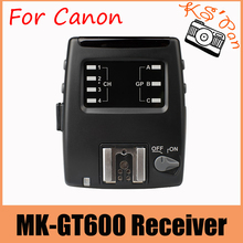 Buy Meike MK GT600 MK-GT600C receiver 2.4G Wireless 1/8000s HSS E-TTL Flash trigger receiver Canon 700D 650D 600D 550D 7D 6D 5D for $48.28 in AliExpress store