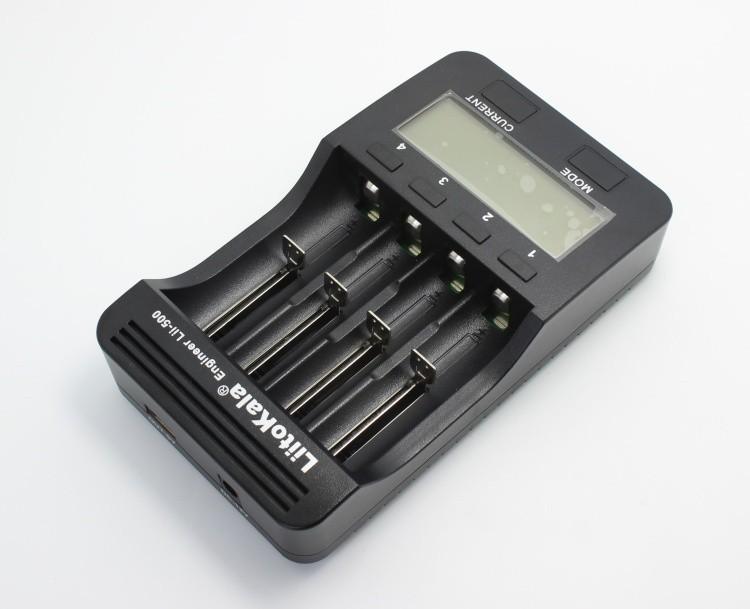 Зарядное устройство Liitokala lii500 LCD 3.7v/1.2v AA/AAA 18650/26650/16340/14500/10440/18500 lii/500 5V1A
