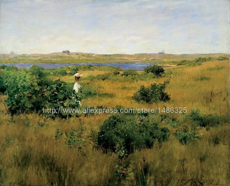 Kitchen Wall Picture Canvas Artwork Pictures For The Wall Impression Canvas Art It Impressionist Landscape Painting(China (Mainland))