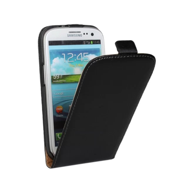 Гаджет  S3 New Retro Luxury Vintage Real Genuine Leather Wallet Flip Phone Case Covers For Samsung I9300 Galaxy SIII S3 None Телефоны и Телекоммуникации