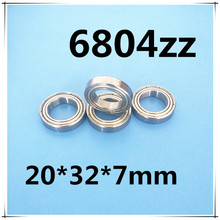 Buy Free 61804 6804 2z 2rs / 6804ZZ 20*32*7mm Deep groove ball thin section bearings for $17.29 in AliExpress store