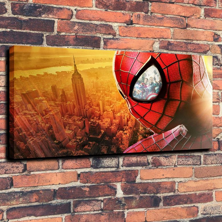 Canvas wall art oil painting hd wallpaper home decorations for New york decorations for the home