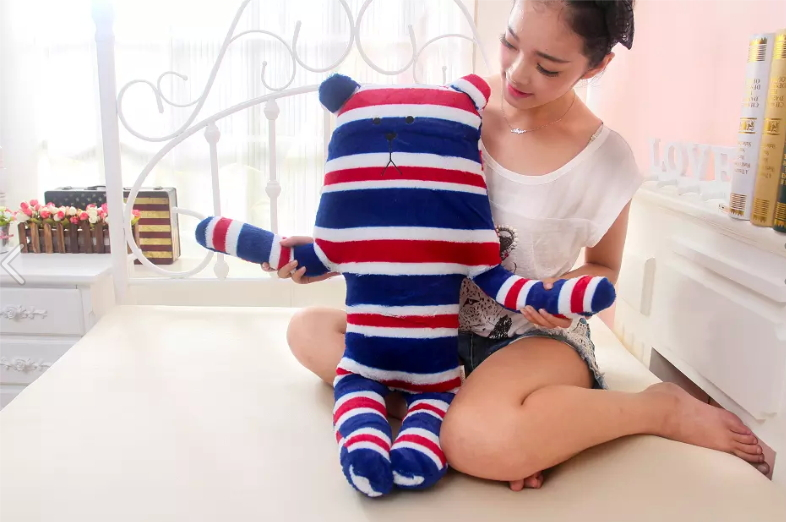 Cuddle And Soft Plush Stuffed Toy Cusion Pillow Long Leg Bear Bunny In Different Style Gift 80cm Long(China (Mainland))