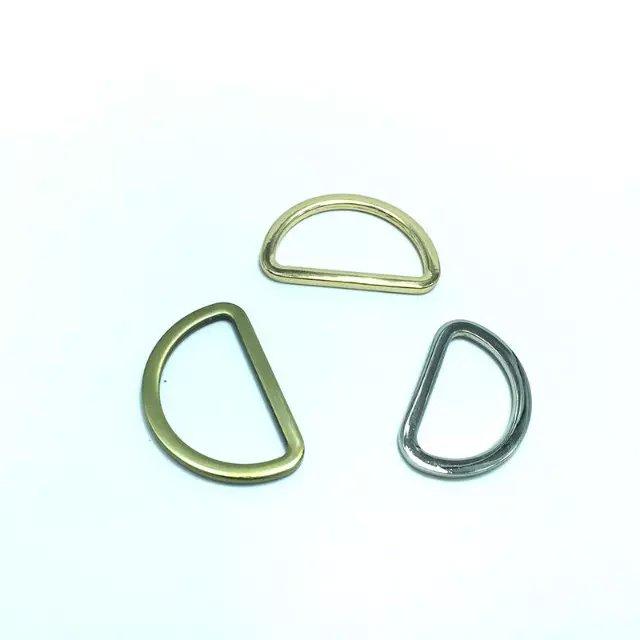 1 1/2 inch Flat Cast D Rings,Silver Finish 38mm inner Dia Metal Rings 100pcs/lot<br><br>Aliexpress