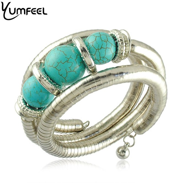 African Beads Bracelet New Arrival Turquoise Beads Bracelet Vintage Jewelry