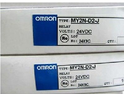 Фотография DHL/EMS 2 Sets for OMRON RELAY MY2N-D2-J 24VDC NEW IN BOX