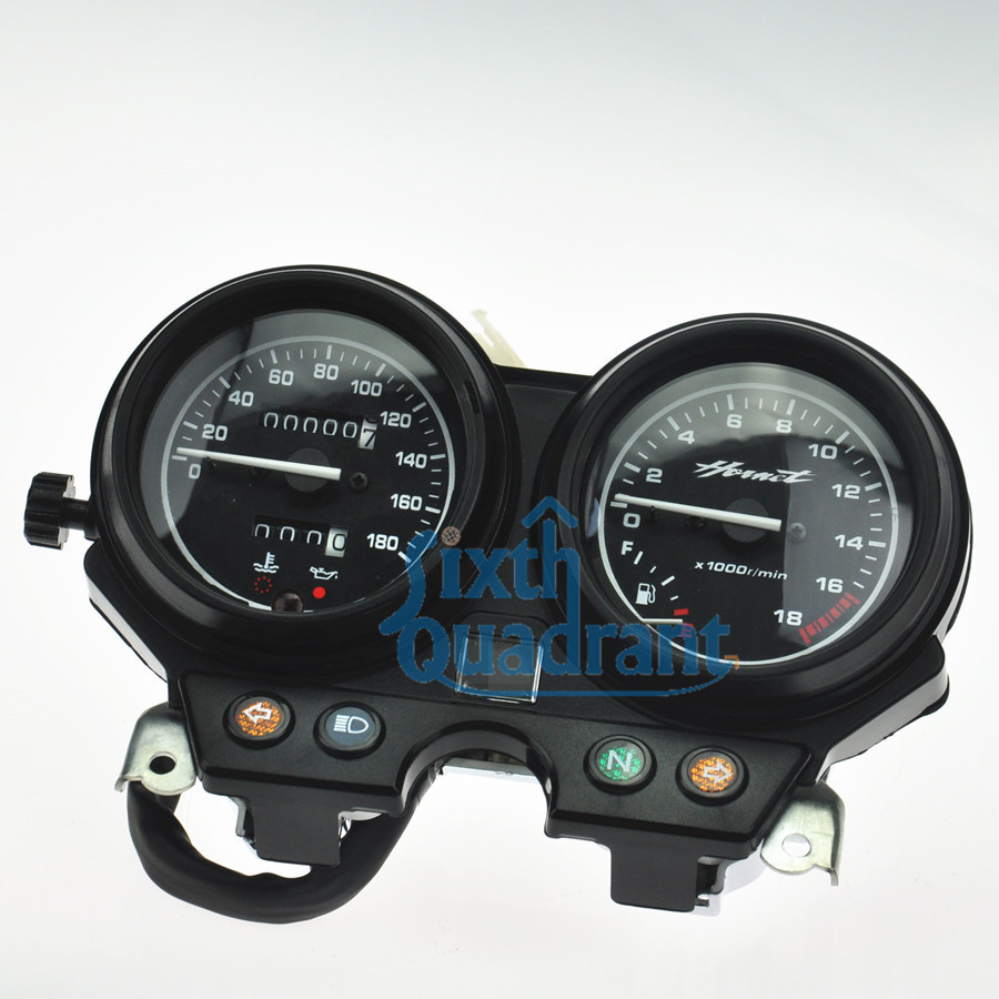 Free Shipping Motorcycle Speedometer Tachometer Gauges Cluster Instrument Assembly For Honda CB250F Hornet250 06 07 08