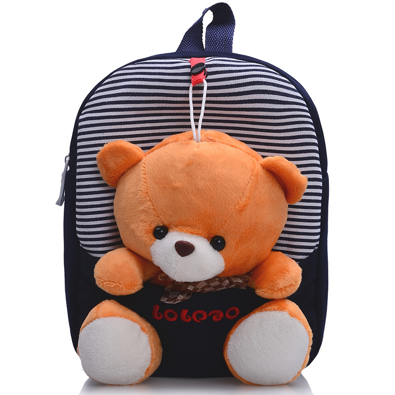 2015 special offer Children school bags cute infant walking wings backpacks cartoon bear for kid bags Free Shipping B19(China (Mainland))