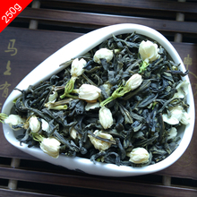 New 250g Top Quality Chiese Organic Jasmine Tea Flower Tea China Green Tea Health Herbal Removing Tone Slimming Diet Secret Gift(China (Mainland))