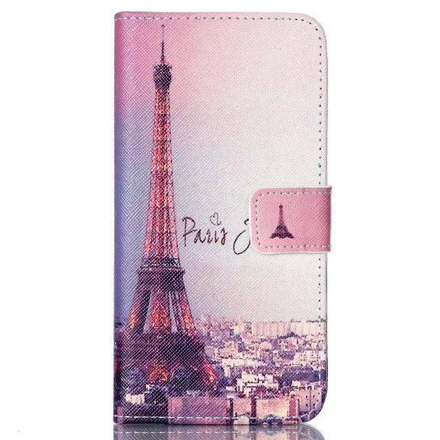 Qiaogle Folio PU Leather Case - T028 / Eiffel + Paris je t'aime - for LG Nexus 5X Wallet Cover(China (Mainland))