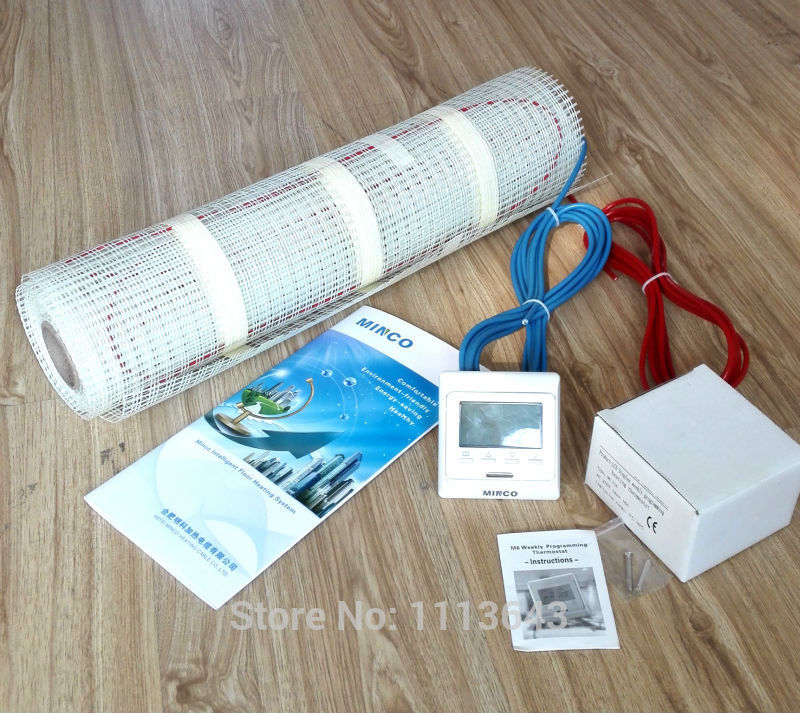 heat electric 100w sqm ce infrared floor heating mat kit floor warming
