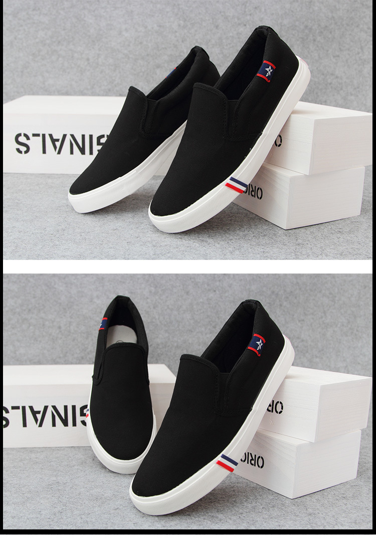 Aliexpress.com Comprar 2015 Hombre Zapatos planos ocasionales Alpargatas de lona resbalón en Zapatos Hombre Calzado Hombre Mujer Xoford Vans Alpargatas