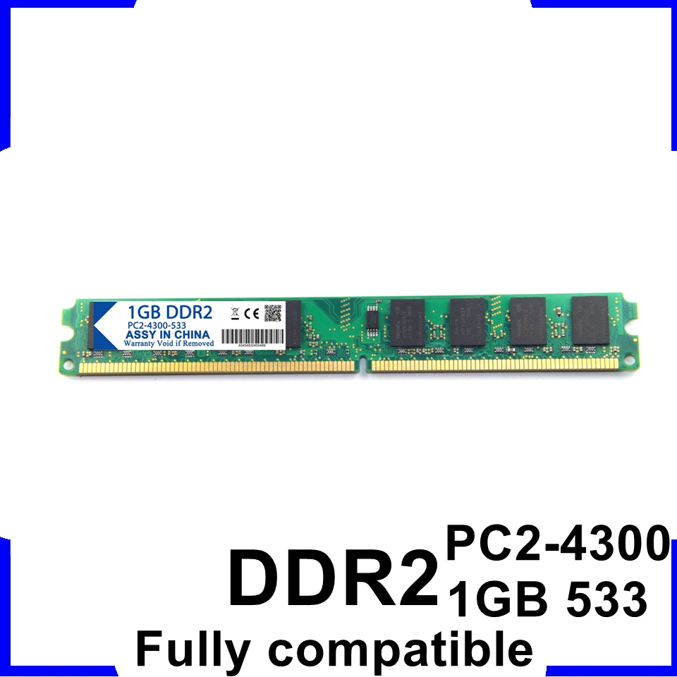 Wholesale Brand New Sealed DDR DDR2 1GB 800MHZ DDR2 2GB PC5300/6400 sodimm for Desktop RAM PC Highly Compatible