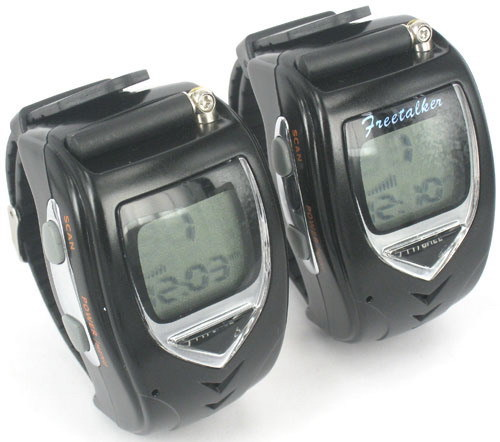 Walkie Talkie Watch Set - Backlit LCD(China (Mainland))