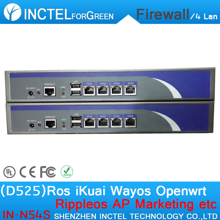 1U BAS Firewall Which Supports Dual Power Supply Dual Fan Industrial Network Security Appliance<br><br>Aliexpress