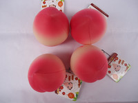 10pcs/lots 8cm candy lovely peach  bread squishy